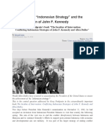 """Allen Dulles """"Indonesian Strategy"""" and the Assassination of John F Kennedy"""