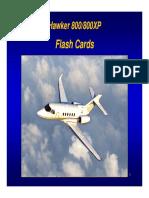 Hawker 800 800XP FlashCards