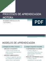 Processos de Aprendizagem Motora