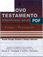 Novo Testamento Interlinear Analítico Grego Portugues Paulo Sérgio e Odayr Oliveti