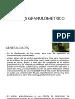 ANÁLISIS GRANULOMETRICO