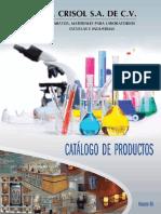 Catalogo CRISOL 2014