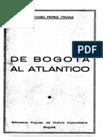 De Bogota Al Atlantico 1880