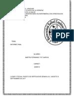 Informe Final Enfermeria Tinga