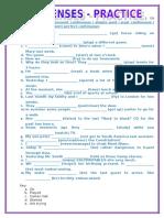Mixed Tense Practice Activities Promoting Classroom Dynamics Group Form 16470