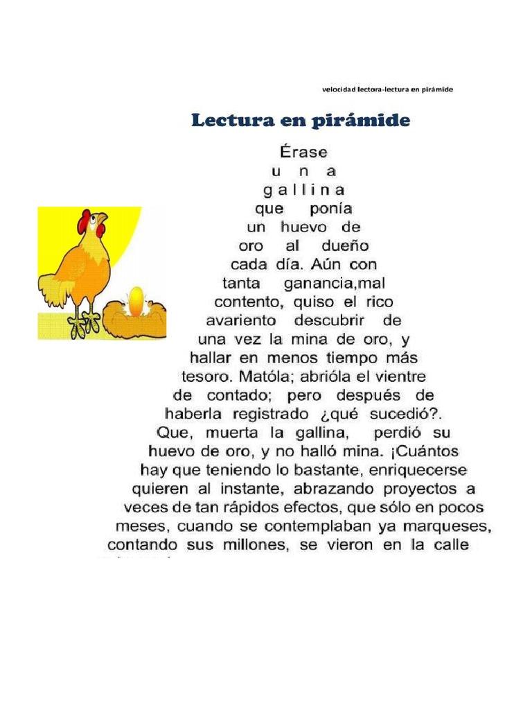 Lectura en Piramide
