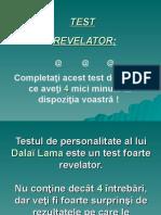 TEST de Personalitate
