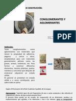 Clase 3 Conglomerantes y Aglomerantes