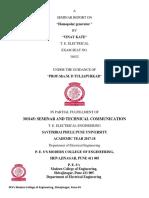 Seminar Report Format-1