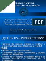 9na Clase Etapas Para La Planificacion EAN Prof. Dionicio 2017-II