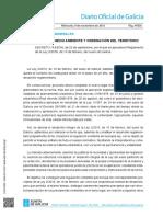 Decreto 143-2016 Del Suelo de Galicia