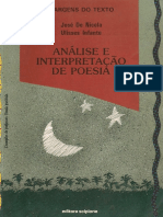 Analise e Interpretacao de Poesia Jose de Nicola