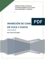 inhibicindecianuroenchayayyuca-131025092515-phpapp01