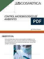 Control Microbiologico de Ambientes