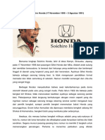 Biografi Honda