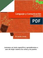 Presentación - Ortografía - Uso de Coma Punto y Coma Punto Seguido Aparte y Final