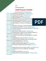 Program the Body Intelligence Summit 16,17,18,19 Fev