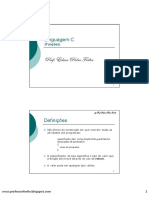 Linguagem C - (6) Funções