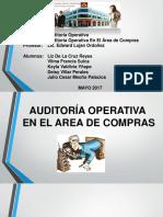 ppt expo auditoria operativa - COMPRAS