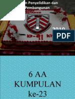 Kolokium Form 6 KUMPULAN 23- 6AA