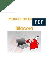 Manual Usuario Bitacora