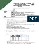 Informe Del Curso de Capacitacion