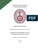 Informe Fisica 3 Puente Unifiliar Wheatstone
