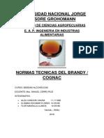 Normas Tecnicas Del Brandy