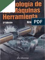 Tecnologia de Las Maquinas Herramientas