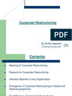 M&a 1 Restructuring