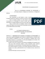 Declaración del Consejo Superior N°05/17