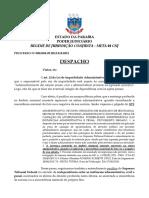 despacho PROCESSO Nº 0001054-09.2012.815.0221