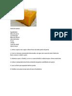 Tarte de Cenoura
