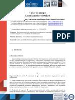 Artículo IDENTIFICACION DE TALUD