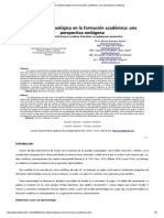 Visión Epistemológica en La Formación Académica_ Una Perspectiva Endógena
