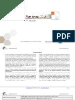 Planificacion Anual Lengua y Literatura 7Basico 2016 (1)