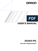i564 e1 01 3g3ax Pg Users Manual