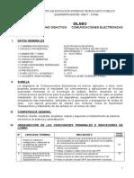 Silabo Comunicaciones Eo II