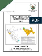 Plan Operativo Institucional 2011 1