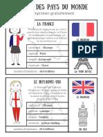 Cartes Pays Du Monde 1