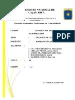 Proyecto Funeraria Cruzado 95 %