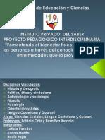 Tp Unisal Proyecto Pedagógico Interdisciplinaria