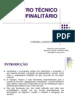 Cadastro Tecnico Multifinalitario Final