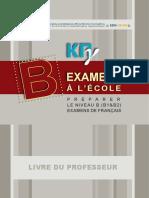 B Teachers Book French