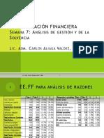 Ad Fin Sem 7 Análisis de La Gestión y Solvencia Pptx