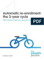 Automatic Re Enrolment the 3 Year Cycle
