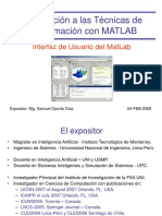 the Matlab User Interface