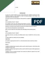 Notification ProjectWork