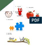 Adjetivos en Ingles