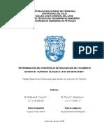 Determinación Del Porcentaje de Declinación Del Yacimiento Eoceno b - Superior Bloque III Lago de Maracaibo